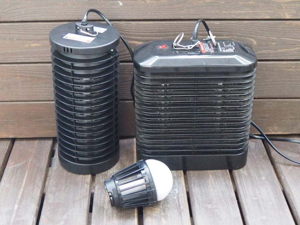 電撃殺虫器とコバエ対策