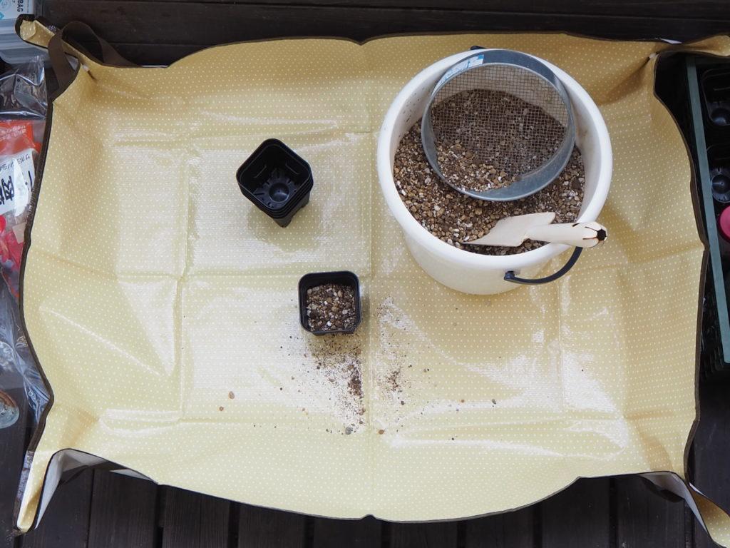 DAISO(ダイソー)で買える多肉植物関連用品・園芸用品 園芸シート